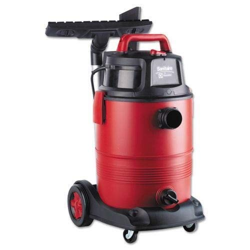 Electrolux Sanitaire SC6060 Commercial Wet Dry Vacuum, 11.5A, 8gal, 12lb, Red