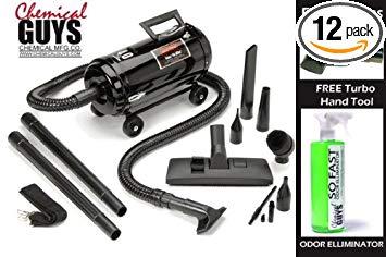 Chemical Guys VNB-94BD Professional Portable Vacuum/Blower (Metro Vac N'Blo VNB-94BD)