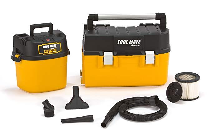 Shop-Vac 3880200 2.5 Gallon 2.5 Peak HP Tool Mate Tool Box Vacuum