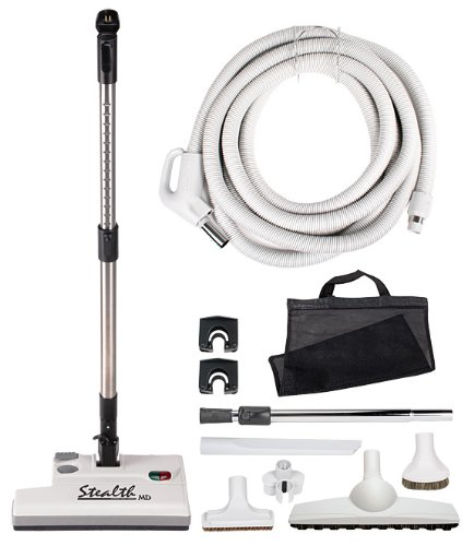 35ft Stealth Central Vacuum Accessory Kit, Direct Connect