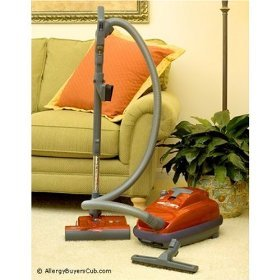 Sebo Canister Vacuums - air belt K3 Canister with ET-H Power Head