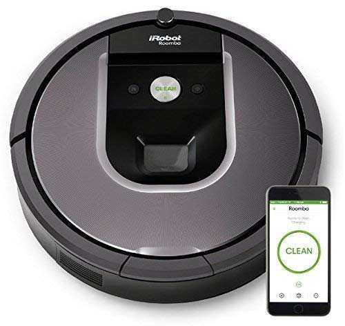 iRobot Roomba 960 Robot Vacuum with Wi-Fi Connectivity +1 extra virtual wall included