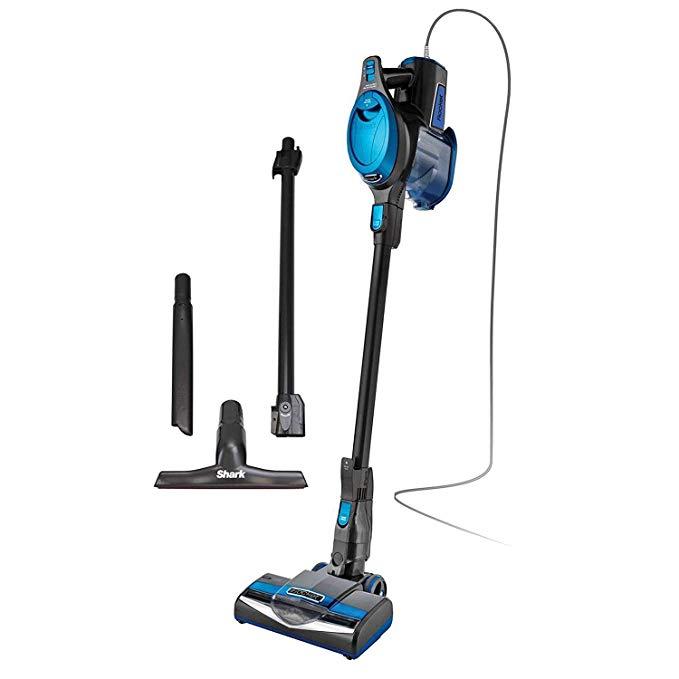 Shark Rocket Swivel Ultralight Swivel Vacuum, Blue HV300 (Certified Refurbished)