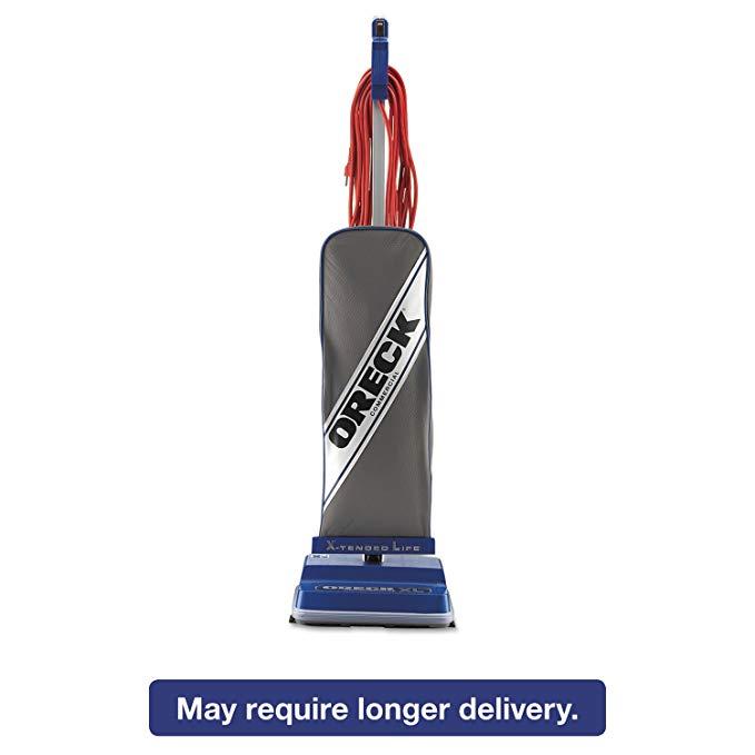 Oreck XL2100RHS XL Commercial Upright Vacuum 120 V Gray/Blue 12 1/2 x 9 1/4 x 47 3/4
