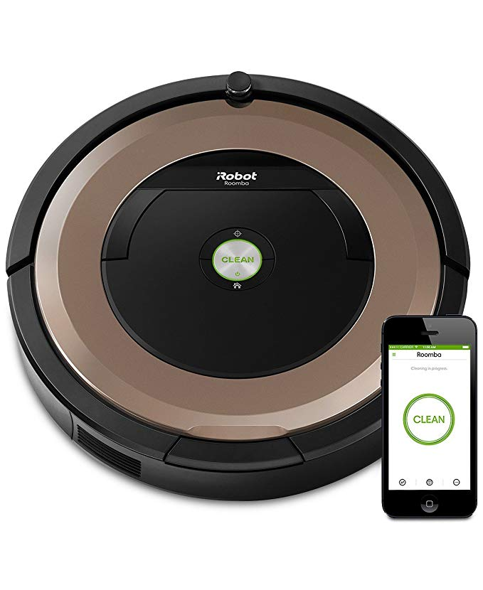 iRobot Roomba 895 Wi-Fi Connected Robotic Vacuum