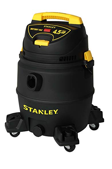 Stanley Wet/Dry Vacuum, 8 Gallon, 4.5 Horsepower
