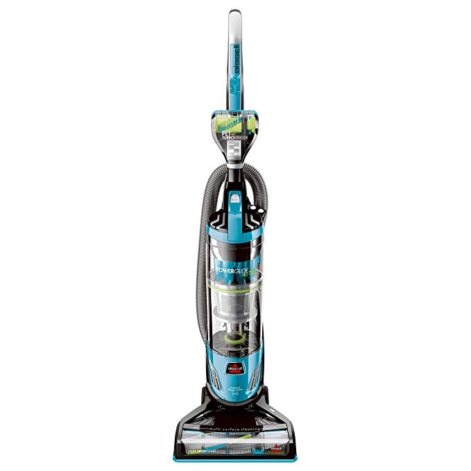 Bissell PowerGlide Pet Hair Bagless Vacuum Cleaner, Blue